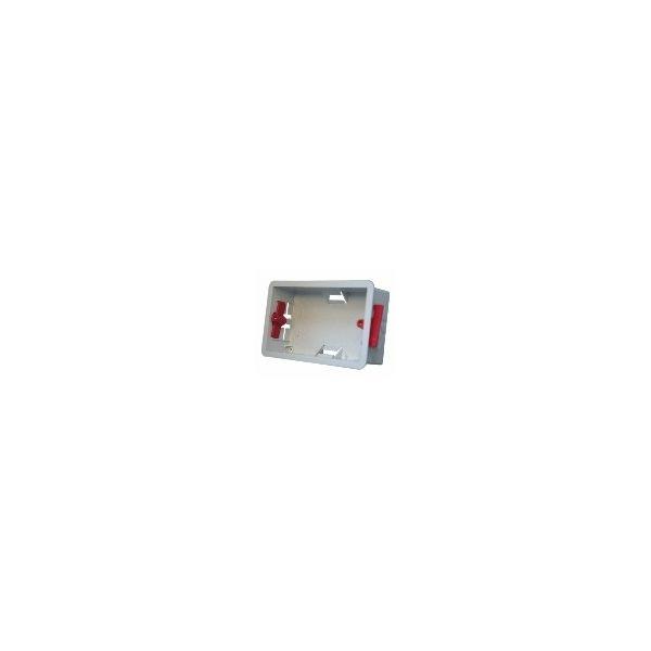 BB2-PR Pack of 5, 35mm deep Drywall back boxdor Dado-2G panels