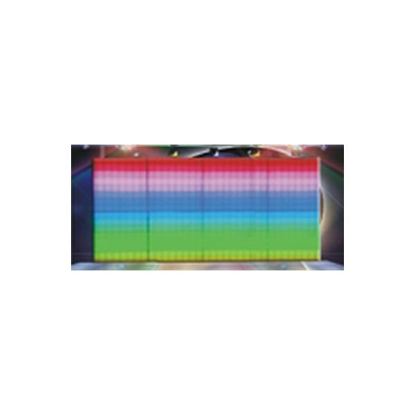 LED RGB DMX 512 - 64 Pixel Display Magnetic Wall Panels - 500mm x 500mm Full Colour LED Display Light Panels for Video Walls