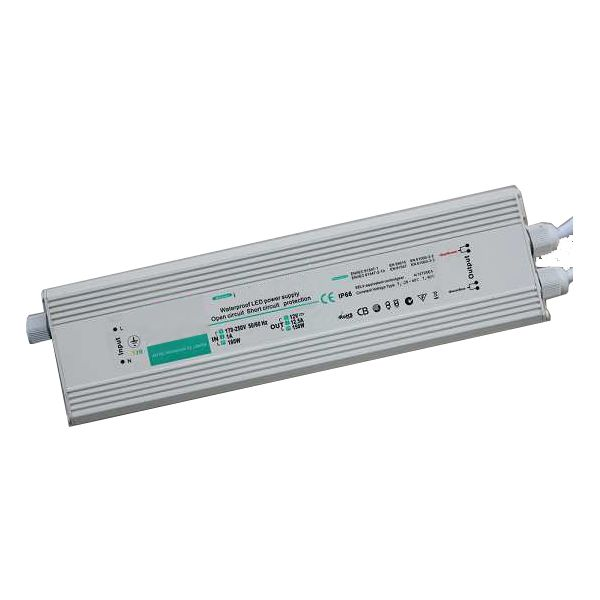 100W 24V Power Supply for feeding 5m of IP68 Thin Film Coating LED Strips