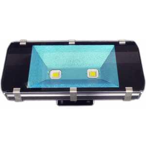 200W LED Flood Light 16000lm Outdoor IP65 100-265V 2pcs x 100 Watt LED Flood High Power LEDs