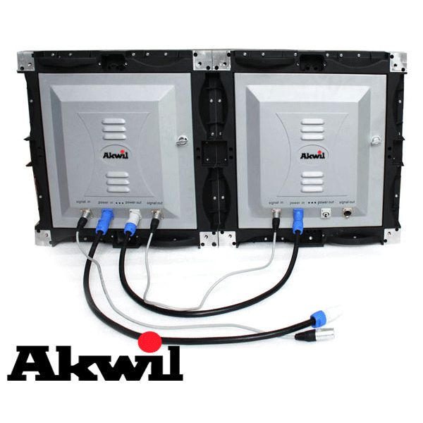 Akwil P4 - Best 4mm Pitch 3in1 LED Modular Display 640mm x 640mm LED Display Modular Panel - Highest Definition and Quality