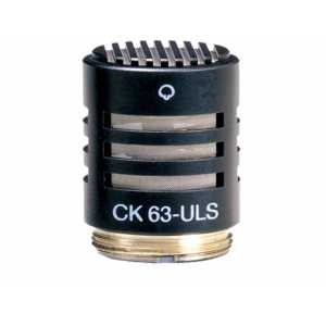 CK63 ULS Professional hypercardioid condenser microphone capsule