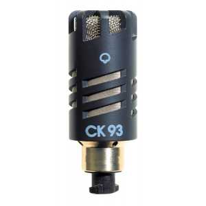 CK93 HIGH PERFORMANCE HYPERCARDIOID CONDENSER MICROPHONE CAPSULE