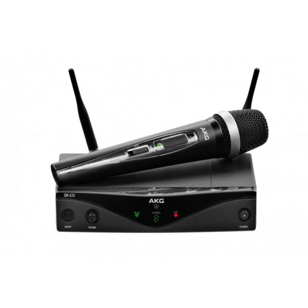WMS420 Vocal Set - Band D Professional wireless microphone system
