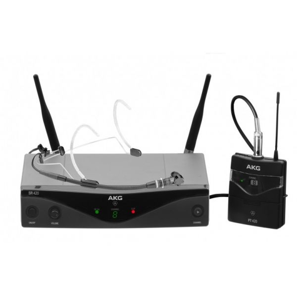WMS420 Headset Set - Band D Professional wireless microphone system
