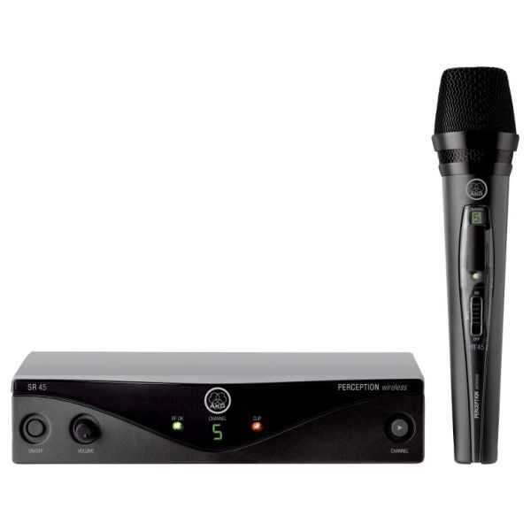Perception Wireless Vocal Set - Band D High-performance wireless microphone system