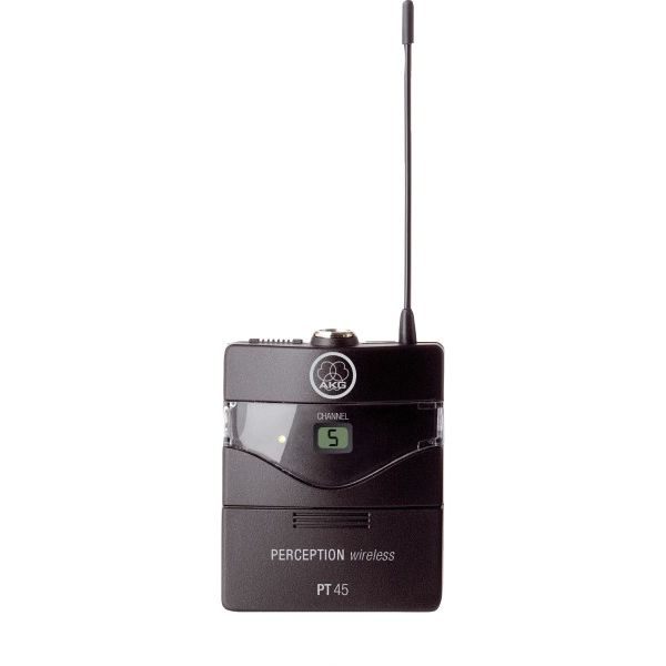 AKG PT45 - Band D High-performance wireless body-pack transmitter