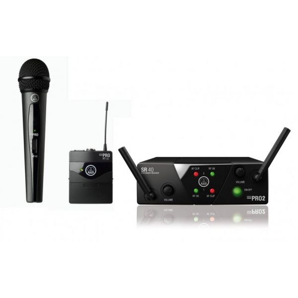 WMS 40 MINI Dual Instrument/Vocal Dual Channel Wireless system