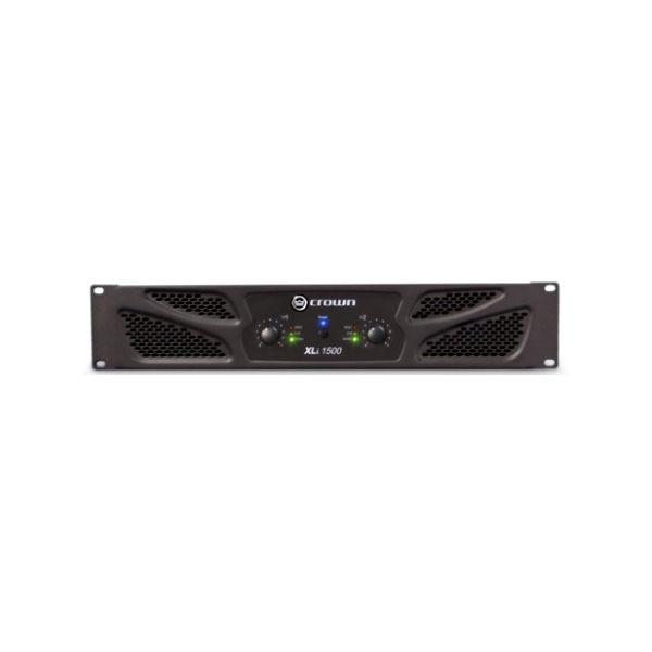 Crown XLi1500 Two-channel Power Amplifier