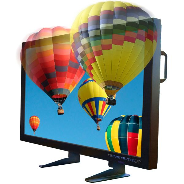 47 inch 3D TV - 47Enabl3D : 47 Inch 9 Lens Lenticular Holographic 3D Display Auto-Stereoscopic Enabled Display Screen