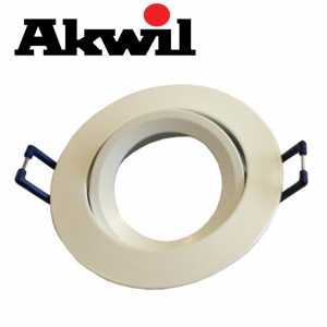 Akwil Universal Angle Fitting for GU10 and MR16 Light Bulbs
