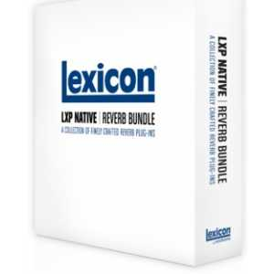 Lexicon Pro LXP Native Reverb Plug-in Bundle