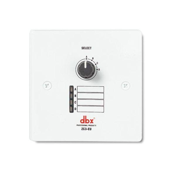 dbx ZC3 EU Wall-Mounted Zone Controller