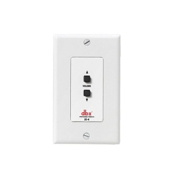 dbx ZC6 Wall-Mounted Zone Controller