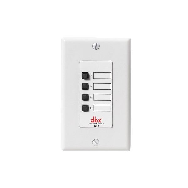 dbx ZC7 Wall-Mounted Zone Controller