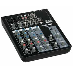 DAP GIG-62 6 Channel live mixer