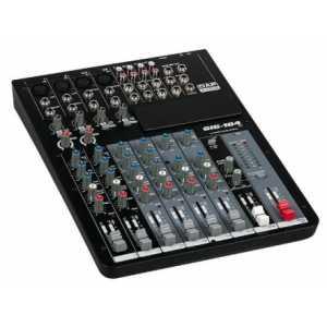 DAP GIG-104C 10 Channel live mixer incl. dynamics