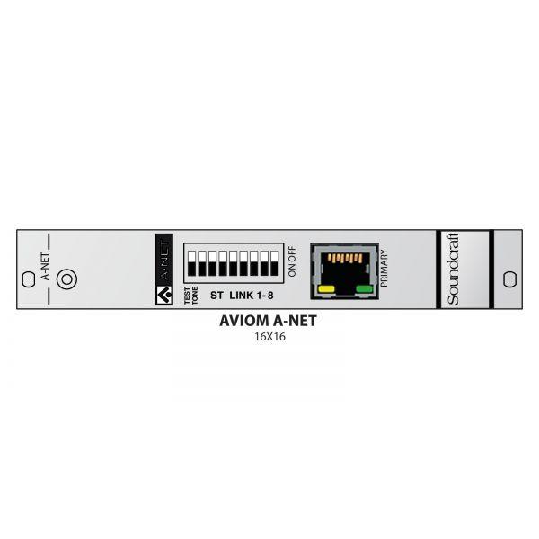 Soundcraft Vi Local Rack - Aviom 16 channel output card - RS2497SP