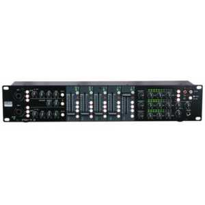 DAP IMIX-7.3 7 Channel 2U install mixer, 3 zones