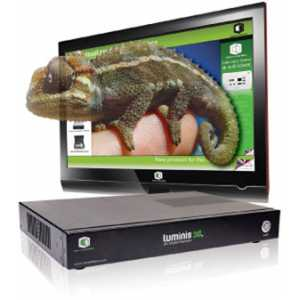 Luminis 3D Lenticular Holographic 3D Auto-Stereoscopic Enabled 3D Display Hardware