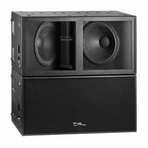 "OHM TRS-218 - 2 x 18"" Driver, Multi Loaded Subwoofer, 4 Ohm"