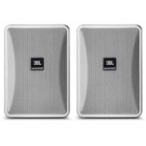 JBL Control 23-1 White Pair of Speakers 100V Line or 8 Ohm