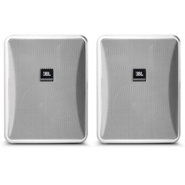 JBL Control 28-1 Pair in White