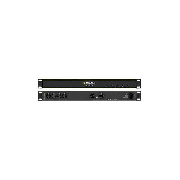 MADRIX Luna 4 DMX IN and 1 DMX OUT 5-Pin DMX512 Multi Universe Artnet Controller Low Latency