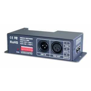 4 Channel RGBW DMX 512 Decoder