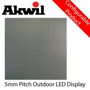 AK-P5R 5mm Pitch Outdoor LED Display Panel Akwil Rental Cabinet Modular Panel Solution 640mm x 640mm