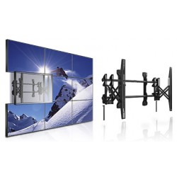 Front Loading Video Wall Display Bracket Fully Serviceable Wall Mount
