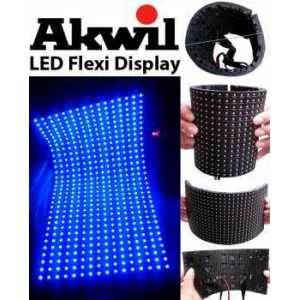 AK-10F Akwil P10 10mm Pitch LED Display Flexible LED Display Panel Solutions 320mm x 160mm