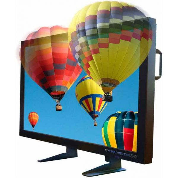 "26 inch 3D TV - 26Enable3D : 26"" 9 Lens Lenticular Holographic 3D Gisplay Stereoscopic Enabled Display Screen"