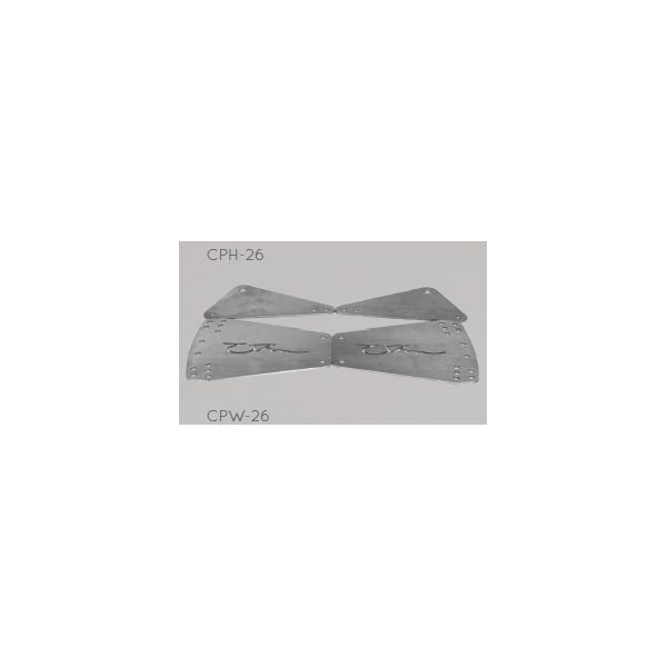 OHM CPH-26 - Top Plates for Hanging CW-26 Cabinets (Pair)