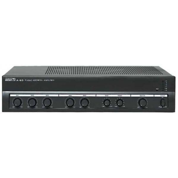 Inter-M - A60 - 100V - 60W - 3 Input Amplifier