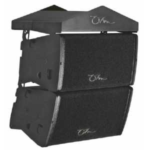 "OHM - ERSA MINOR Line Array - 2 x 6"" Neodymium Drivers + 1"" Compression Driver"