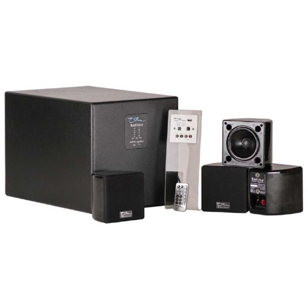OHM BootiQue - Active Sub / Sat System 1 x Subwoofer, 8 x Satellites, 8 x BWB Brackets, Remote & Wall Panel
