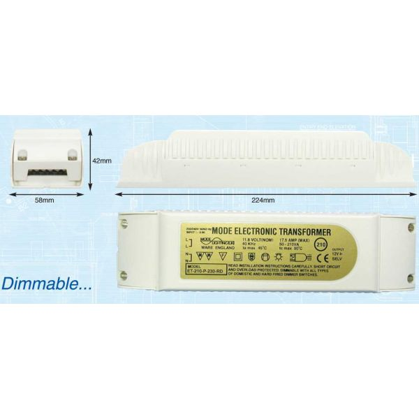 Mode Electronic Transformer (12 Volt, 50 to 150 VA)
