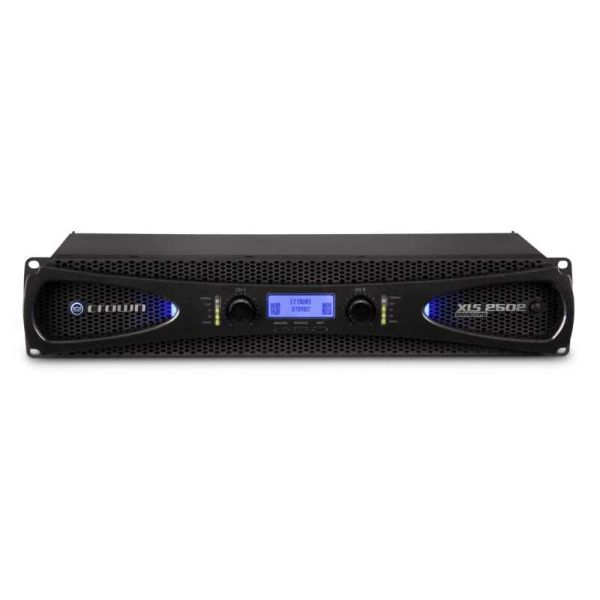 Crown XLS 2502 Two-channel, 775W @ 4Ω Power Amplifier