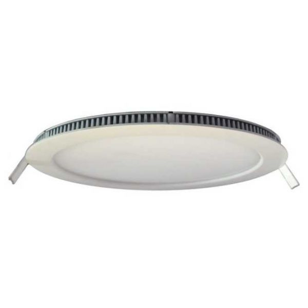 Akwil - 12 inch 24W UK 240V Dimmable Round LED Panel Light - Flush Round LED Ceiling Light Panel - High Brightness Series