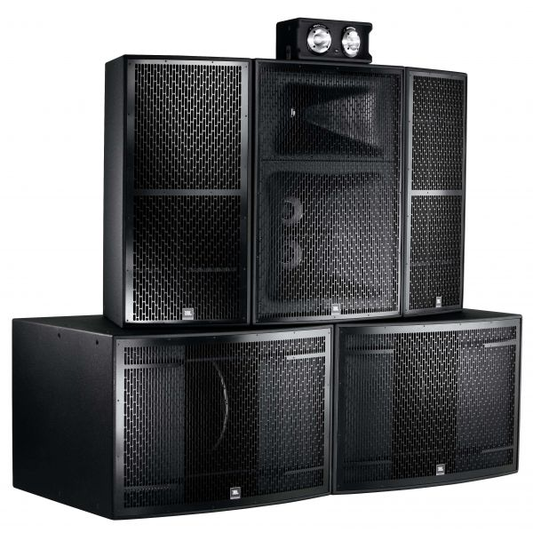 JBL Marquis Twin Dance Stack System