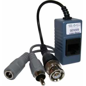 CCTV Pair of Video Audio Power Cat5e Baluns