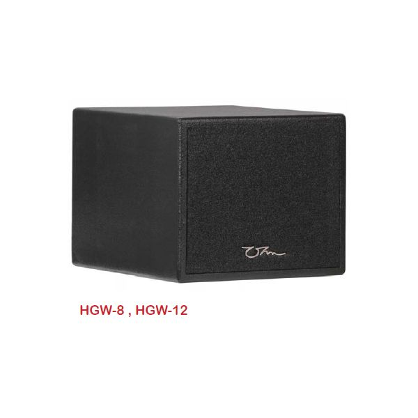 "OHM 12"" Bandpass Subwoofer HGW-12"