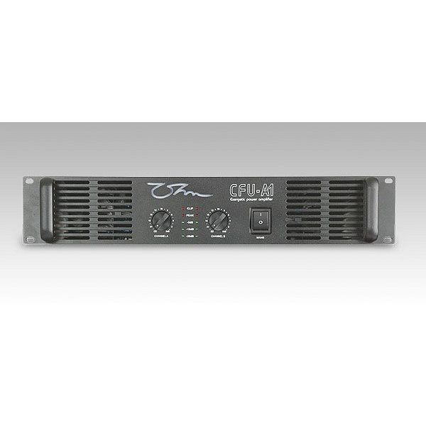 OHM - CFU-A1 -Professional Amplifier 2 x 600 Watts 2 Ohm, Bridged 1200 Watts 4 Ohm, LP Crossover