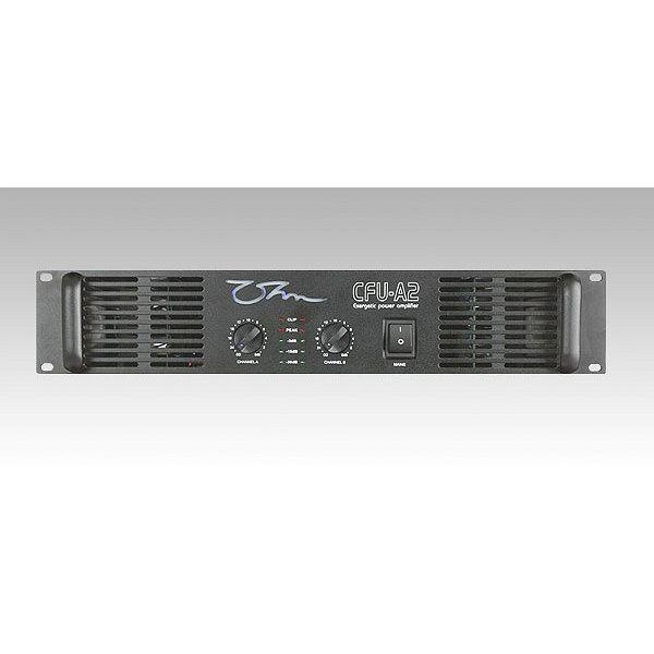 OHM - CFU-A2 - Power Amplifier - 2 x 1600 Watts 2 Ohm, Bridge 3200 Watts 4 Ohm, LP Crossover