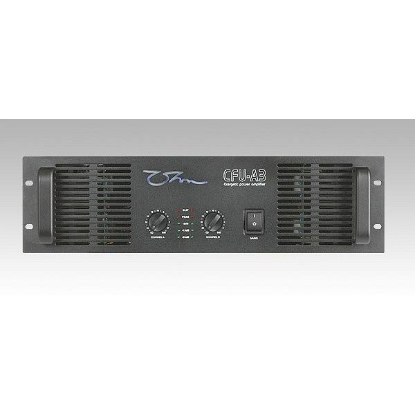 OHM - CFU-A3 - 2 x 2200 Watts 2 Ohm, Bridge 4400 Watts 4 Ohm, LP Crossover