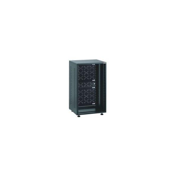 Euromet 12U Extra Deep Rack 19 Inch Rack with Back Panel in Black