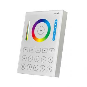 Smart Wireless 8 Zone Colour Control Wall Panel