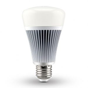 8W DMX512 RGB CCT LED Light Bulb