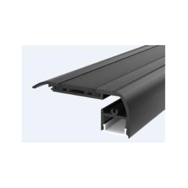 Aluminium Led Strip Profile For Stair Light Surface Steps